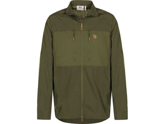 Fjällräven Abisko Shade Jas Heren, laurel green